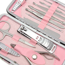Load image into Gallery viewer, 12pcs Stainless Steel Nail Care Tool set