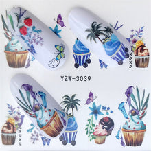 Load image into Gallery viewer, FWC  Nail Art Water Transfer Stickers