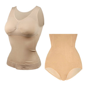 Super Thin Seamless Lift Bra and Waist Slimming shapers