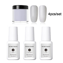 Load image into Gallery viewer, 4Pcs/Set Nail Art Dipping Powder Natural dry