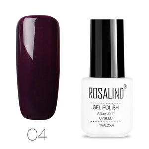ROSALIND Semi Permanent Gel Polish