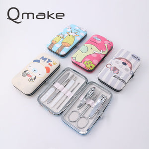 7pcs Cartoon Nail Clipper set for babies
