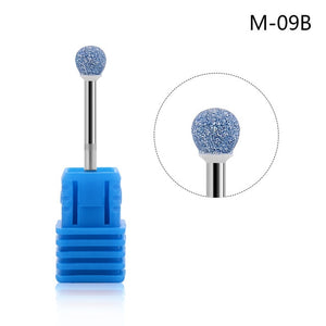 Ceramic Nail Electric Drill Head Tools