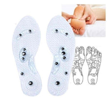 Load image into Gallery viewer, Shoe Gel Insoles Feet Magnetic Therapy