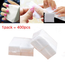 Load image into Gallery viewer, 400pieces/pack Nail Gel Polish Removal Cotton Napkins