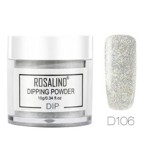 ROSALIND Pigment Dipping Powder For Nails Art