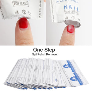 ROSALIND Gel Nail Polish Remover Lint-Free Wipes