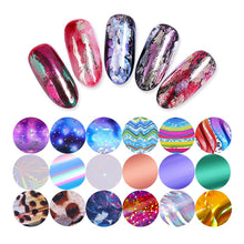 Load image into Gallery viewer, Holographic Nail art Foil Set
