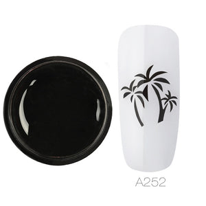 ROSALIND Stamping Gel Print For Manicure
