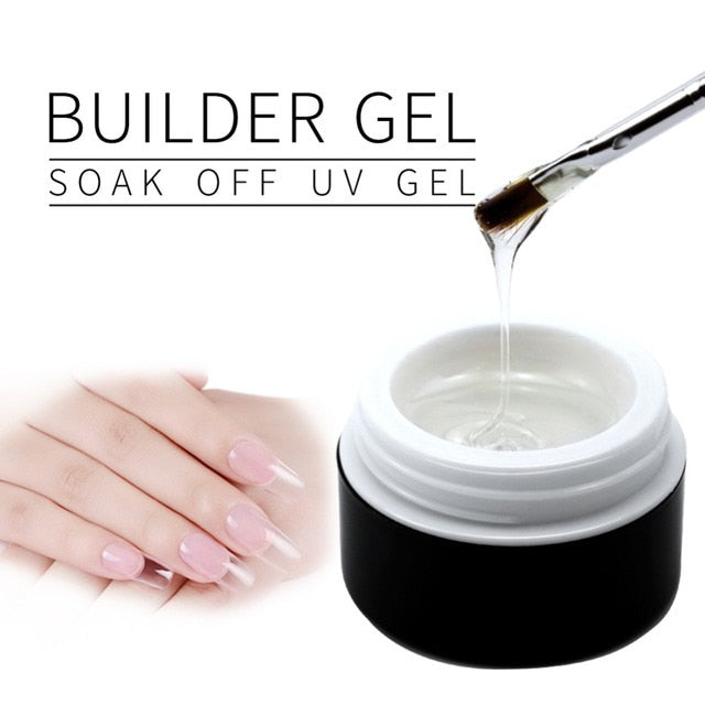 UV Gel crystal nails builder gel