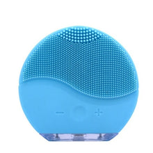 Load image into Gallery viewer, Mini Electric Facial Cleansing Brush