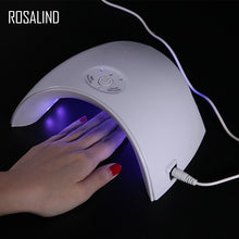 Load image into Gallery viewer, ROSALIND 36W UV LED nail dryer