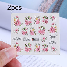 Load image into Gallery viewer, 3D DIY Manicure  Decorations Stickers