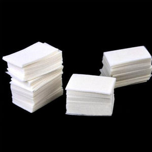 400pieces/pack Nail Gel Polish Removal Cotton Napkins