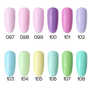 Light Pastel Gel Nail Polish