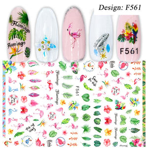 1pcs 3D Sticker Nail Art Decorations