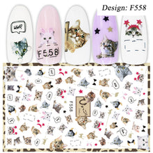 Load image into Gallery viewer, 1pcs 3D Sticker Nail Art Decorations