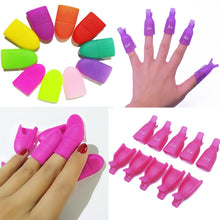 Load image into Gallery viewer, 10pcs/set Gel Polish Remove Clips