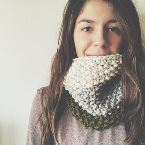 DENALI COWL / knitting pattern