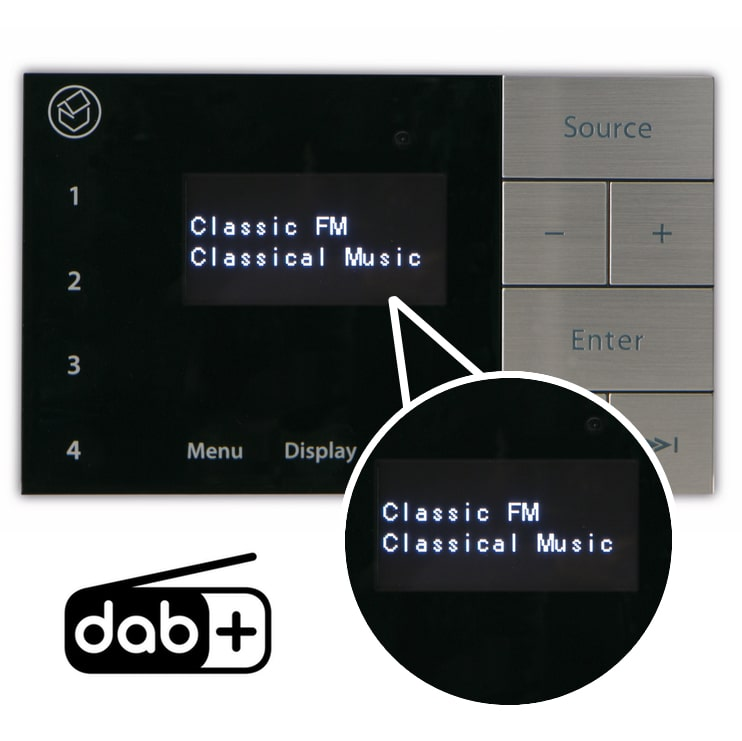 Amplifiers with DAB /  FM Radio Tuner