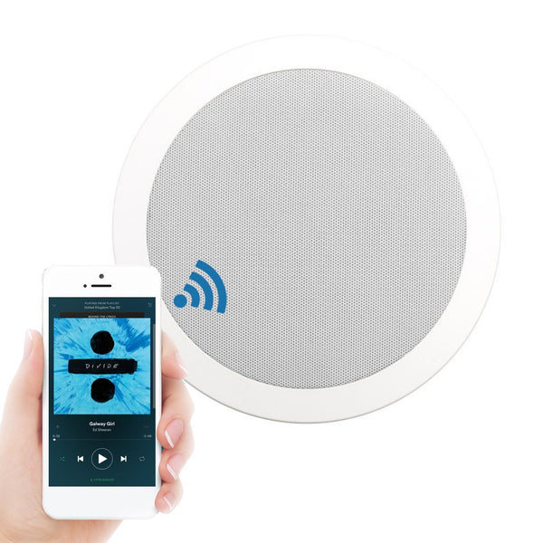 K2 Audio Bluetooth Express Bathroom Ceiling Speaker System