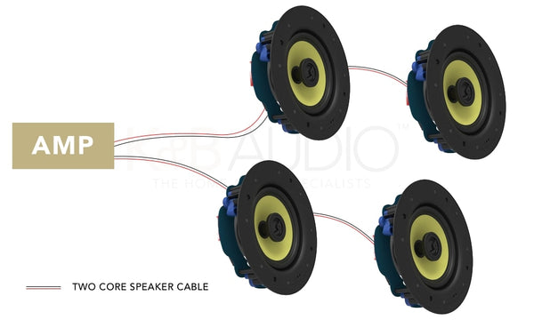 Wiring Guide For Four Ceiling Speakers