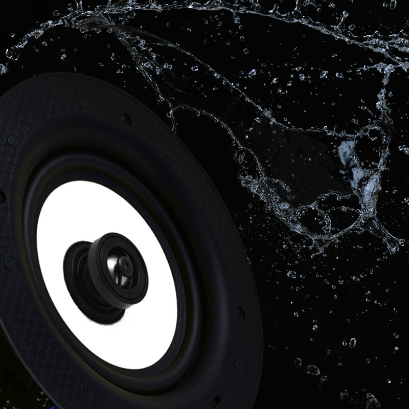 IP44 Rated Ceiling Speaker For Bathrooms