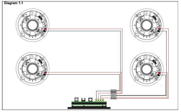 Wiring Four Speakers To An Amplifier