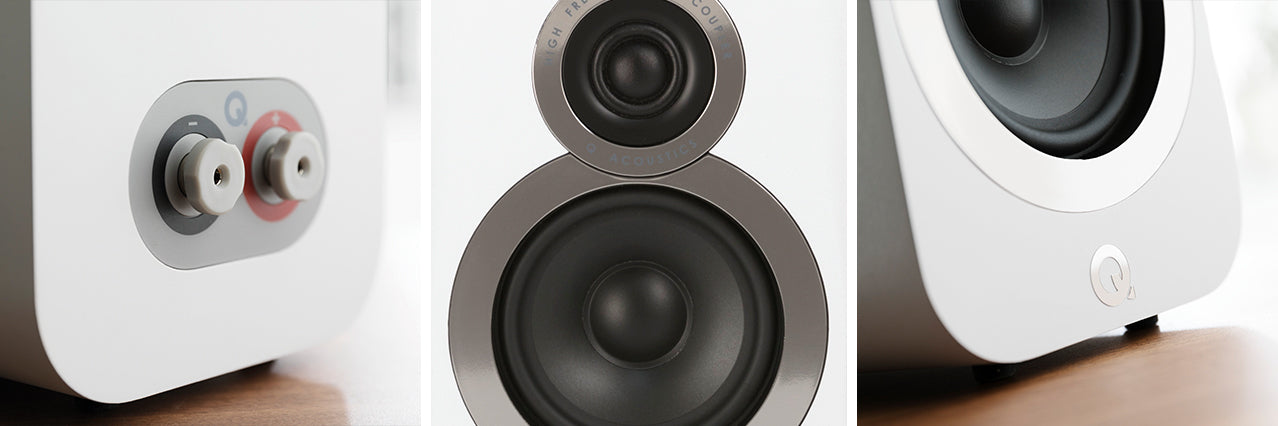 K&B Audio 3010i Q Acoustic Speakers