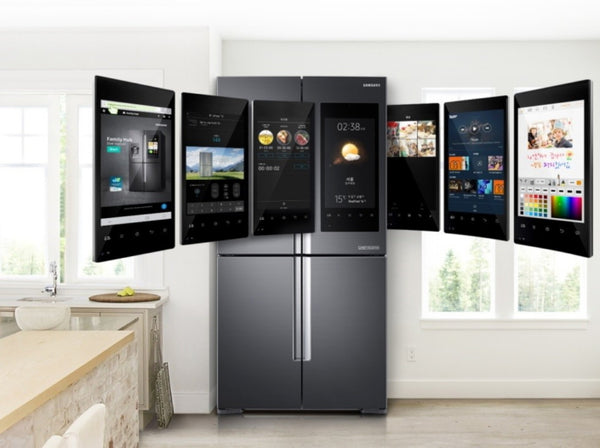 Samsung Family Hub Smart Fridge Kitchen Extension Ideas