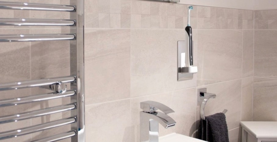 Proofvision TBCHARGE Electric Toothbrush Charger Bathroom Ideas