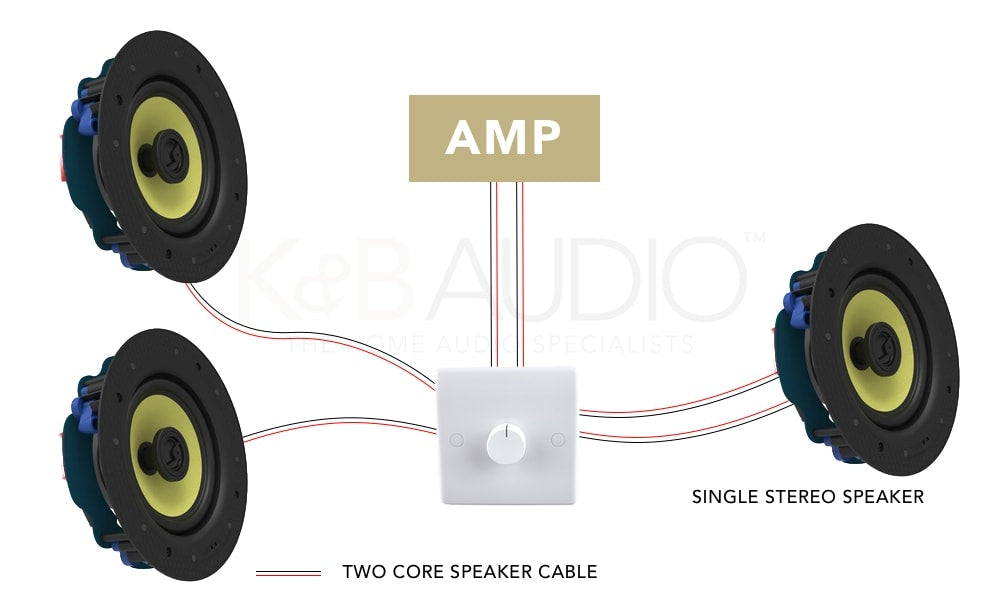 Speaker Switch Single Stereo Wiring Diagram