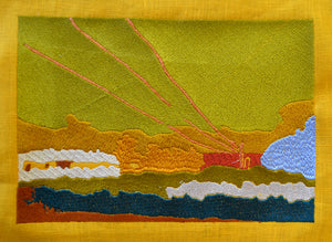 Embroidered Landscape No. 7