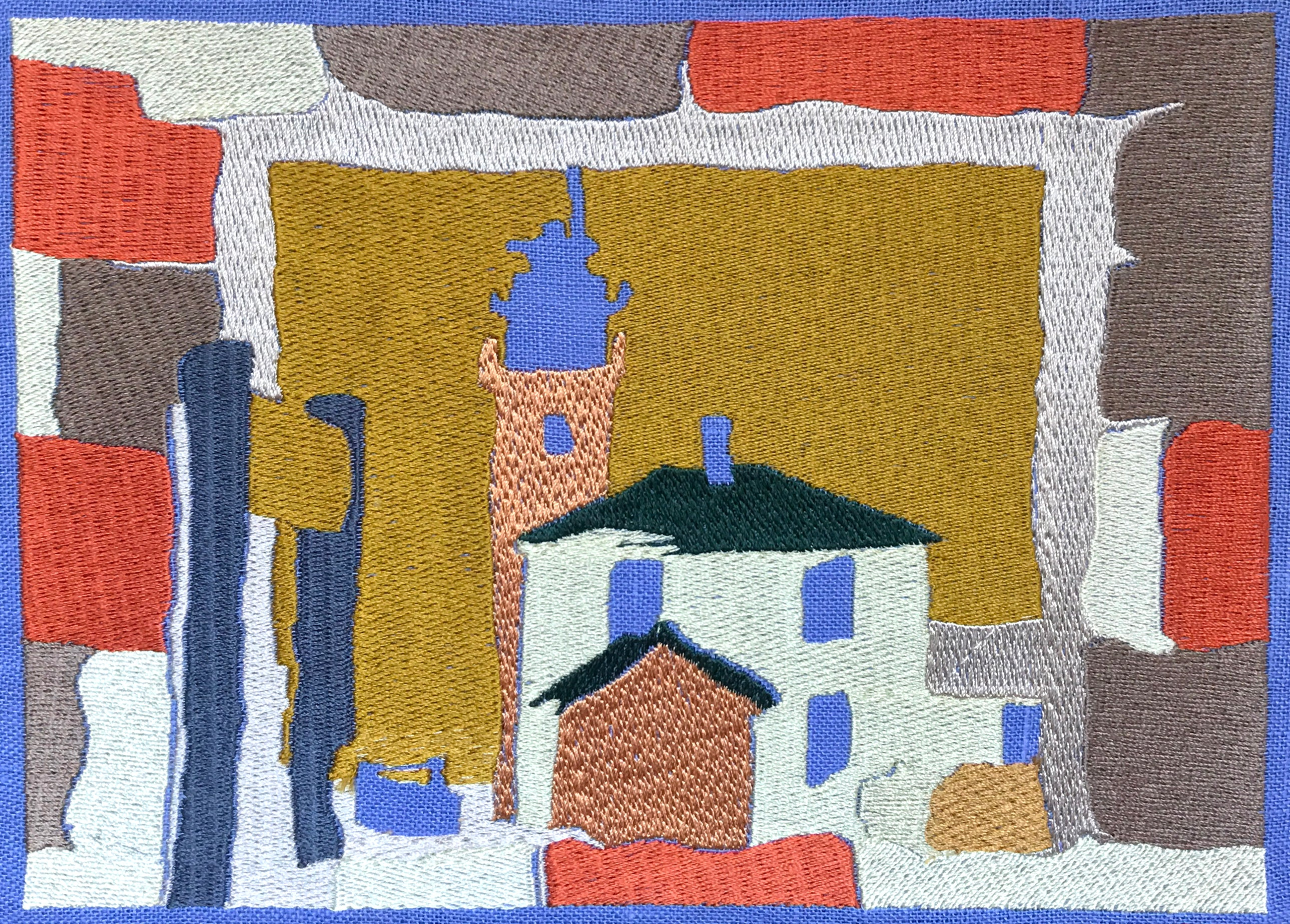 Embroidered Lighthouse No. 1