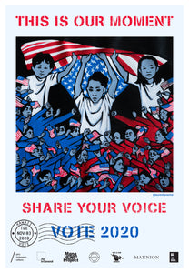 Hawaii Get Out The Vote Poster by Lauren Hana Chai