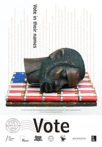 Illinois Get Out The Vote Poster by Bob Faust & Nick Cave