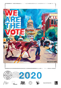 Iowa Get Out The Vote Poster by Ben Schuh