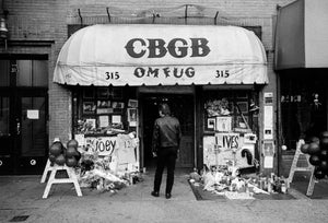 Joey Ramone Shrine, CBGB's, NYC