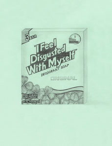 """I Feel Disgusted With Myself"" Deodorant Soap by Al Franken, U.S. Senator (Irish Spring)"