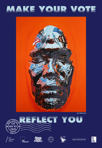 New Jersey Get Out The Vote Poster by Kip Omolade