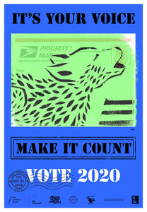 New Mexico Get Out The Vote Poster by ENX
