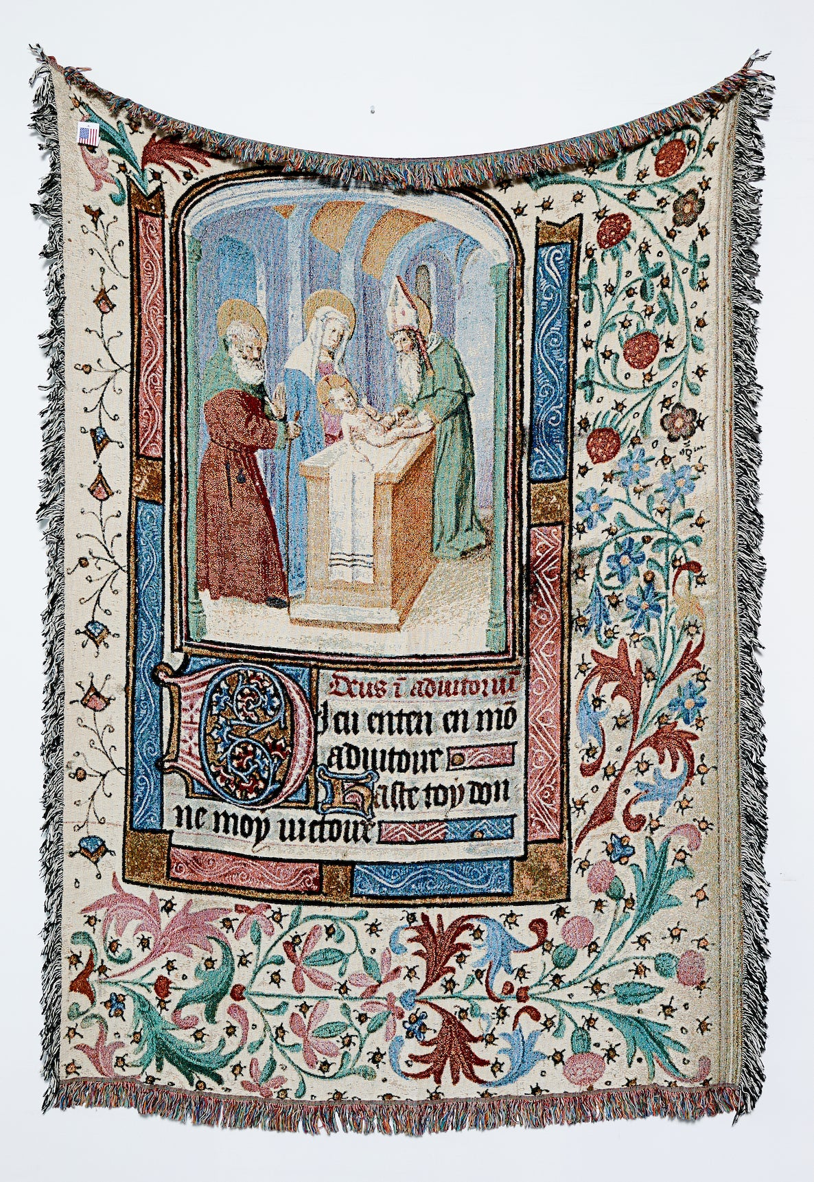 The Circumcision of Christ (From the French Book of Hours)