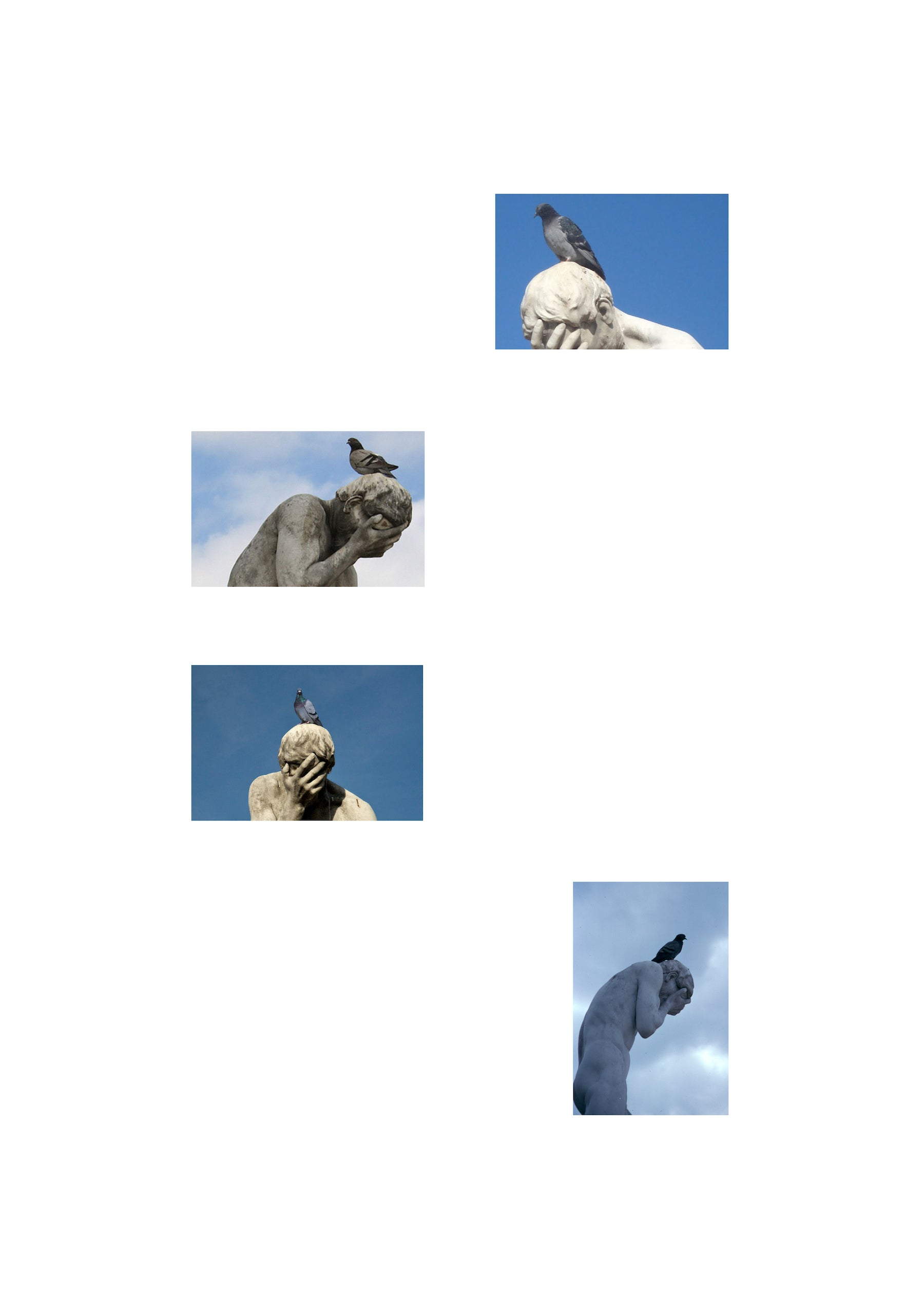 Birds on Statues I