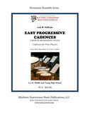Easy Progressive Cadences (7 Copies)