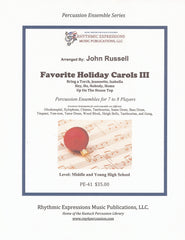Favorite Holiday Carols III (Digital Copy)