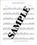 Eight Solos for Snare Drum (Digital Copy)