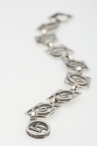 Force sterling silver bracelet