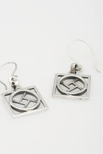Force sterling silver earrings