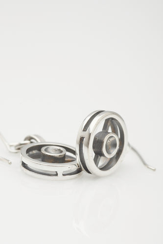 Signal sterling silver earrings