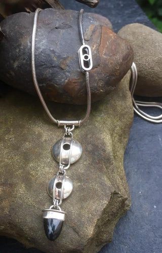 Quarry sterling silver necklace